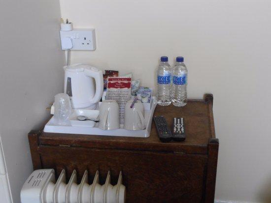 Crianlarich, UK: good hospitality tray