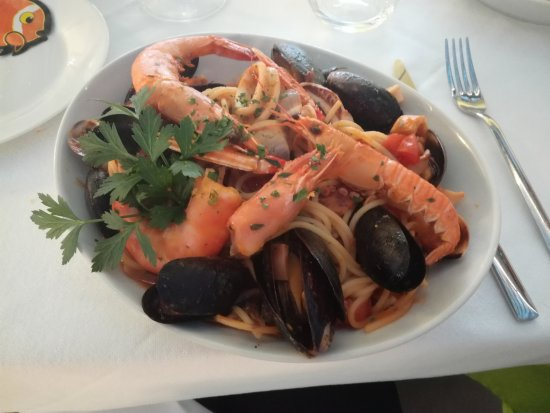 Cadrezzate, Itália: Spaghetti allo scoglio