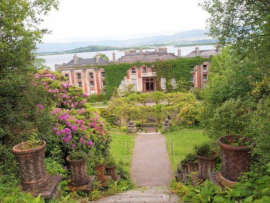 Bantry House & Garden: From the top of the steps