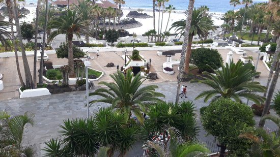 H10 Tenerife Playa: View from our room number 508