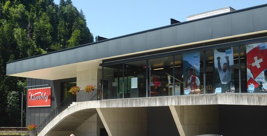 Trubschachen, Suisse : Kambly Fabrikladen und Cafeteria