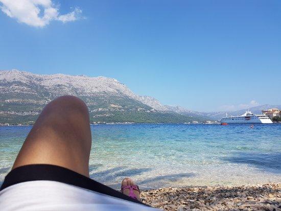 Korcula Island, Croatia: Deniz