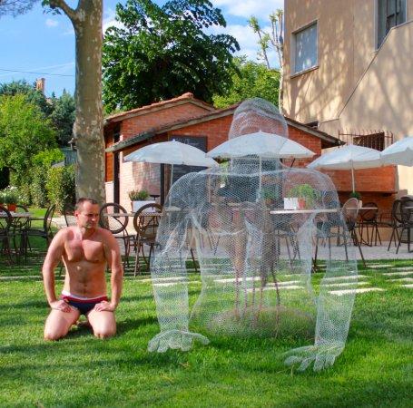 Lo storico bar del posta marcucci photo de albergo posta marcucci bagno vignoni tripadvisor - Bagno vignoni hotel posta marcucci ...