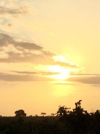 Komatipoort, South Africa: Por do sol no Kruger