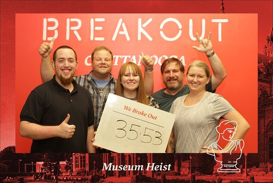 Breakout Games - Chattanooga