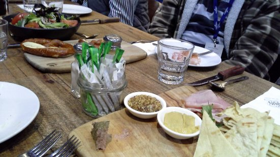 Hahndorf, Αυστραλία: A display of the delicious shared Entree