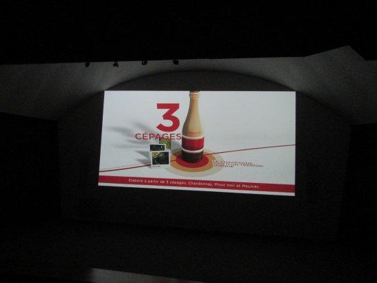 Epernay, ฝรั่งเศส: explication par film