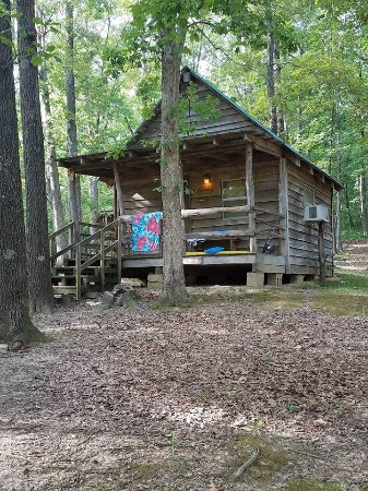 Whippoorwill Lake Family Camping: View of Cabin #2