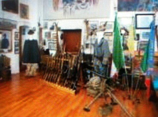 San Daniele del Friuli, Italy: Sala espositiva uniformi .