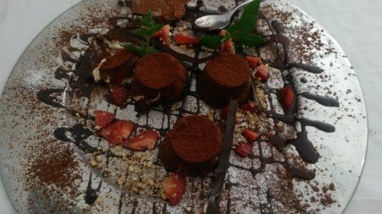 Argentona, Spain: Cremoso de queso
