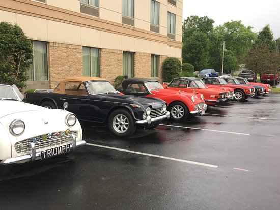 Hilton Garden Inn Columbus/Edinburgh: Car Club