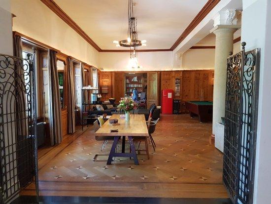 Lenzerheide, Suisse : lobby/lounge/common room