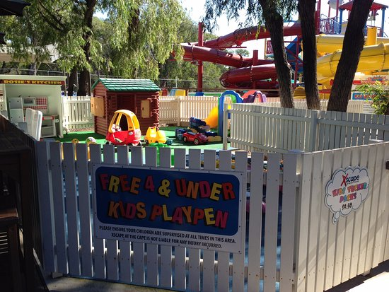 Dunsborough, Australia: Kids under 4 play area