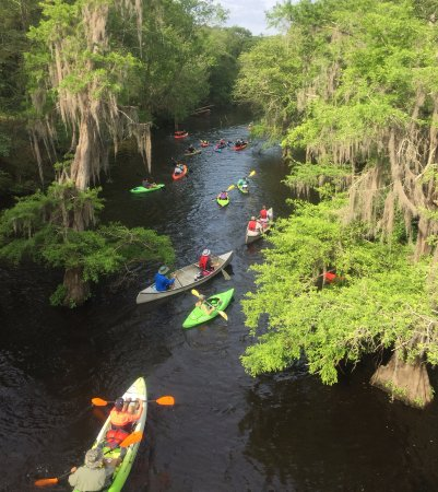Adel, GA: Kayaking the Little River