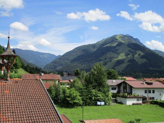 Kossen, Austria: Mountain view from my window