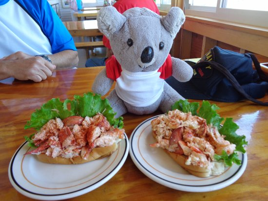 Phippsburg, ME: Awesome Lobster Rolls.