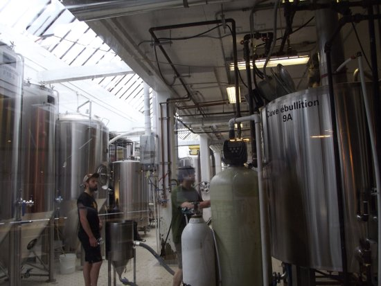 Montreal Craft Beer Tours: les cuves