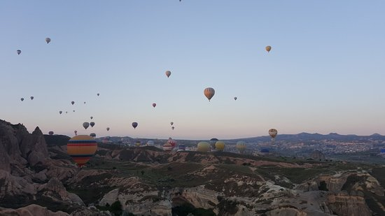 MyTrip Travel: 150 balloons at a time take off