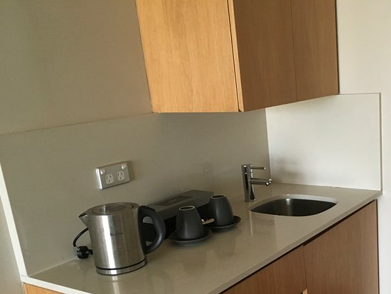 Pullman Sydney Hyde Park Kitchenette Could Do With Utensils Such As Bottle Opener