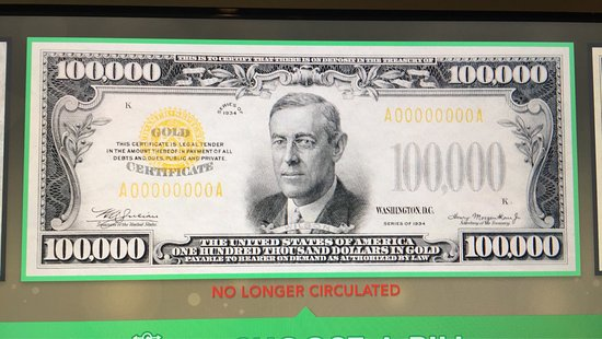 Money Museum at the Federal Reserve Bank: photo0.jpg