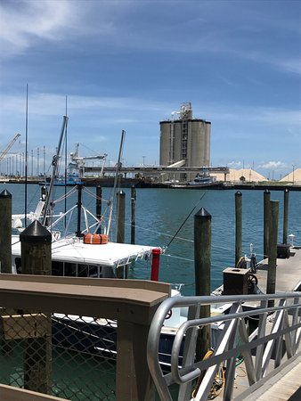 The bloody mary and some views picture of grills seafood deck tiki bar cape canaveral - Grills seafood deck tiki bar ...