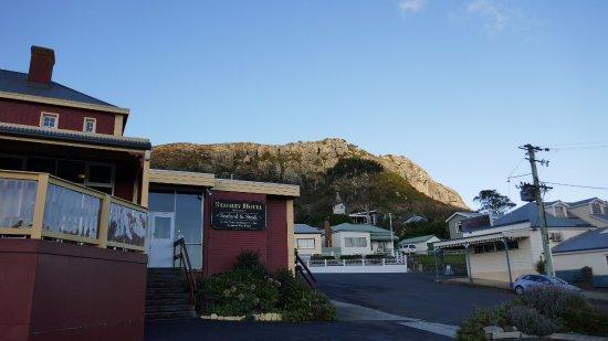 Stanley, Australia: ホテル外観