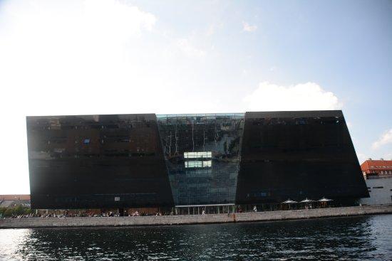Zealand, Danimarca: vista do barco