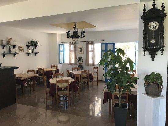 Stelida, Grecia: ontbijt ruimte