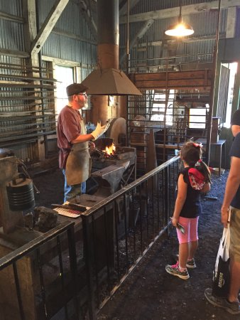 Grass Valley, CA: Blacksmith shop