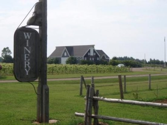 Charlottetown, Canadá: Rossignol Winery - on the Lighthouse & Winery Tour!