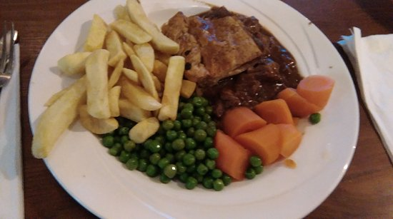 Polmont, UK: the steak and ale pie