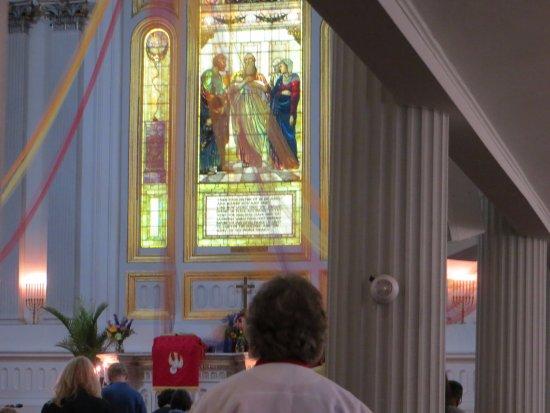 Kingston, Estado de Nueva York: Stained glass was beautiful