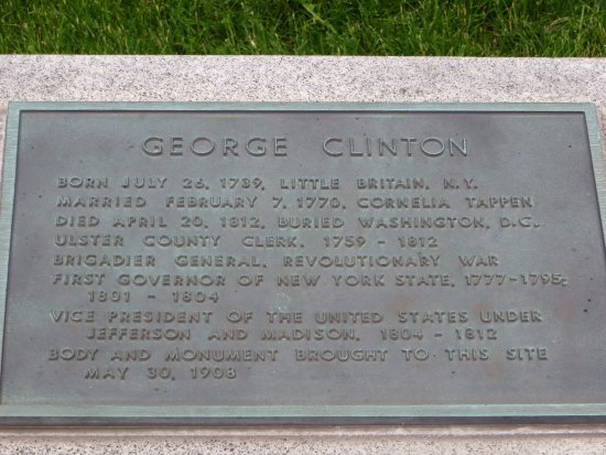 Kingston, NY: Did not know about George Clinton.