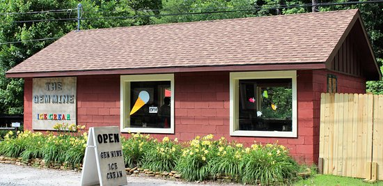Lake Lure, Carolina del Norte: The Gem Mine - Gem Mining & Ice Cream Shop