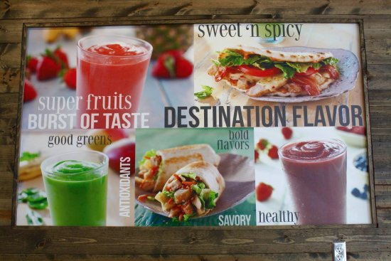 Saint Louis Park, MN: We feature bold flavors and real ingredients in all our fresh-made smoothies and food!
