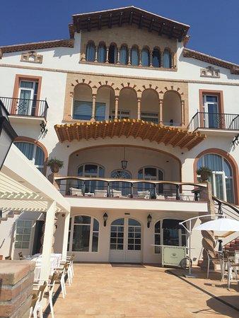 Precioso hotel photo de hotel casa vilella sitges - Hotel casa vilella ...