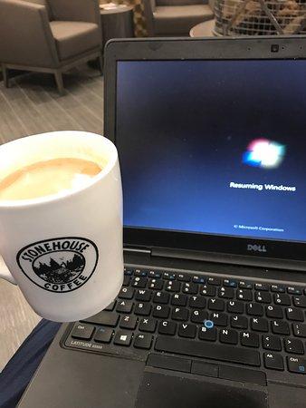 Nisswa, MN: Great coffee shop