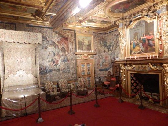Cheverny, Frankrijk: La chambre du roi