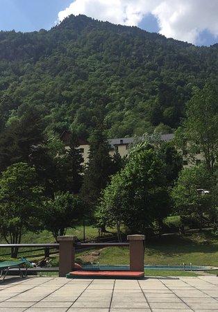 Hotel Manantial: Vistas desde la piscina