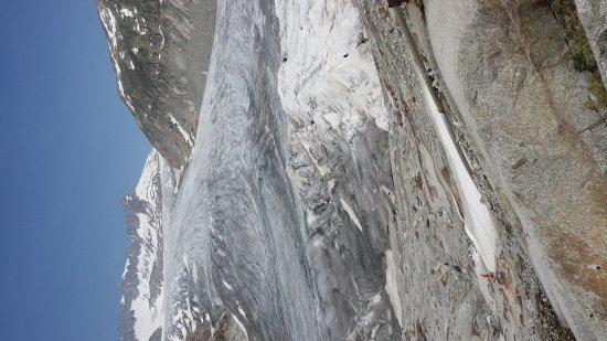 Gletsch, Szwajcaria: Остатки былого величия