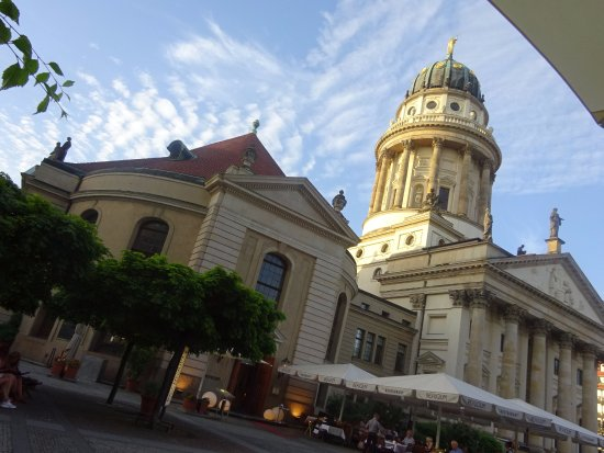 Cafe Konzerthaus: view from the cafe tables