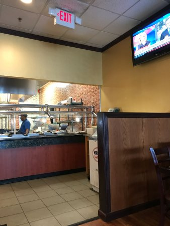 Delaware, OH: prep area for special dishes prepared just for you!!!