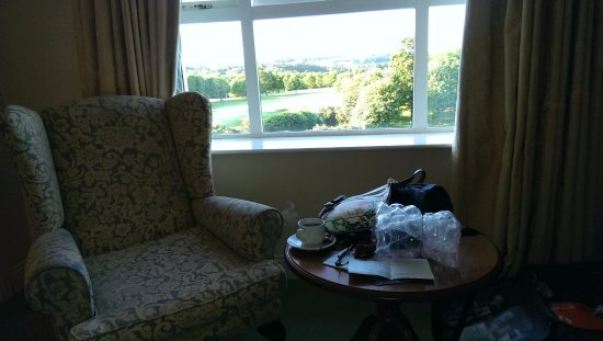 Hotel Woodstock: Overlooks golf course