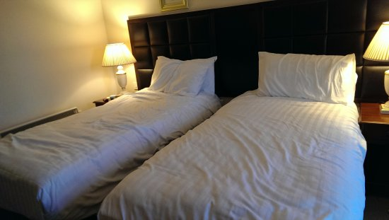 Hotel Woodstock: Twin bed room, comfortable beds
