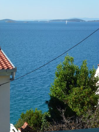 Seget Vranjica, Croatia: View From Terrace
