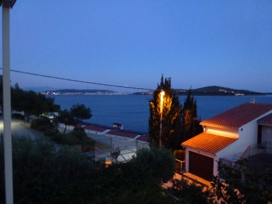 Seget Vranjica, Croatia: View From Terrace At Night