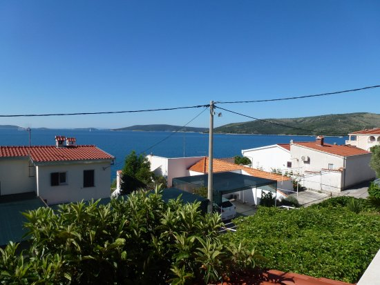Seget Vranjica, Croatia: View From The Terrace
