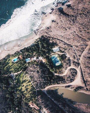 Quemaro, Μεξικό: Aerial View Hotel