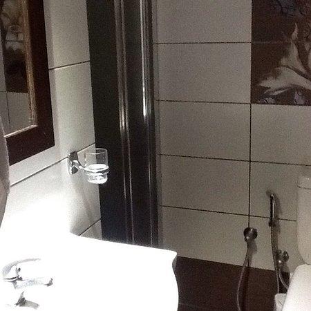 Hotel Nostos: Номер в отеле очень понравился. Ранее были в 4* отеле на  западной части Крита. Тут лучше