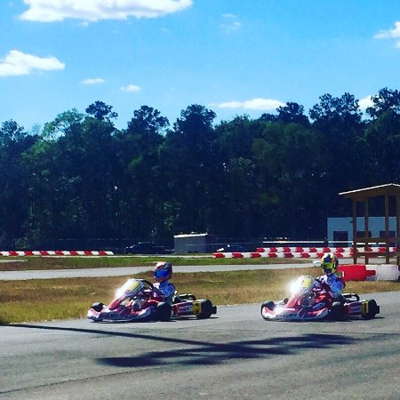 New Caney, TX: Fun on two tracks!